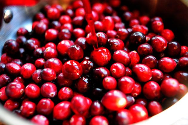 Cranberry-Pomegranate Sauce Recipe — Dishmaps