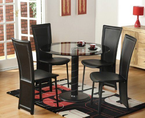 top dining room kitchen table 4 chairs by kings brand furniture