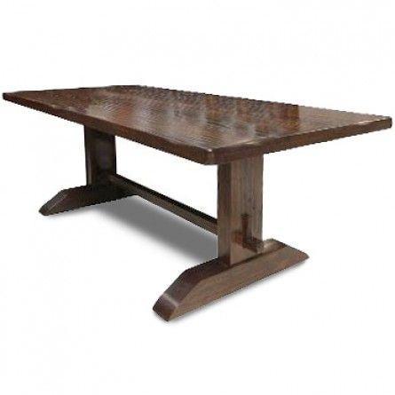 CLASSIC HOME SEQUOIA TRESTLE DINING TABLE DINING TABLES Gallery