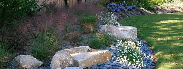 Landscape Boulders Dallas Tx : Texas landscaping love grasses garden