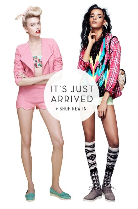 It's just arrived - Shop New In