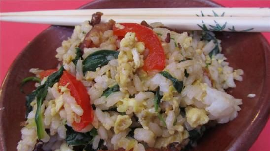 Bacon and egg fried rice | TWC News Recipes | Pinterest