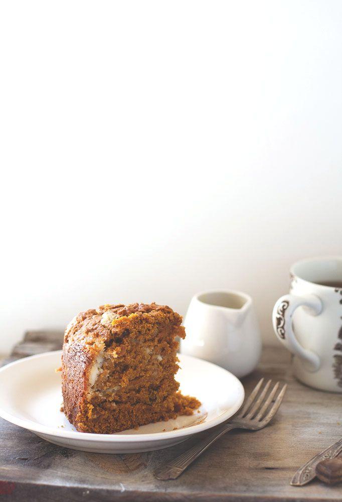 pumpkin cream cheese tea cake | cake insanity :) | Pinterest