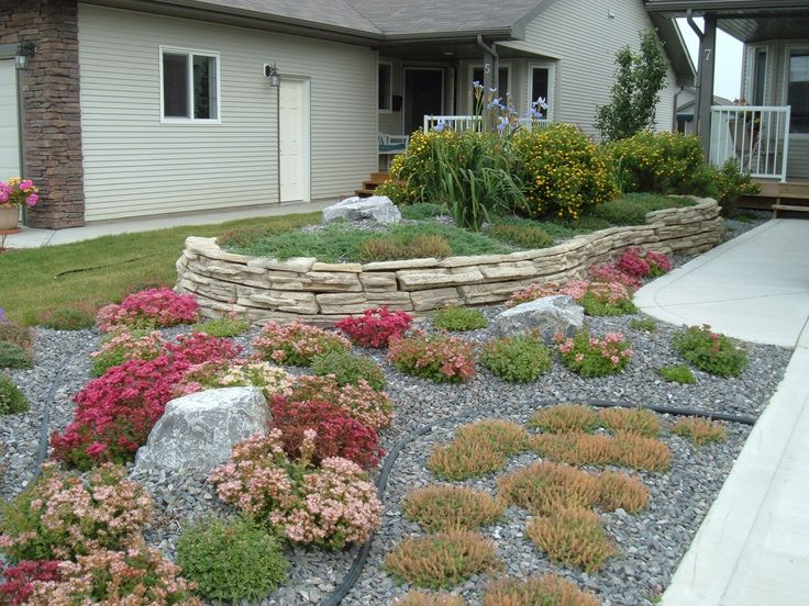 Pin by a s on avs pinterest for No maintenance front yard landscaping
