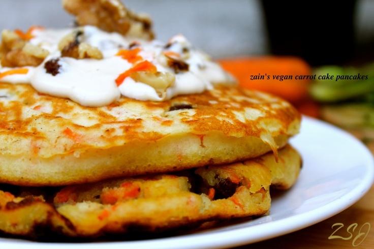 Carrot Cake Pancakes | Pancakes/Waffles | Pinterest