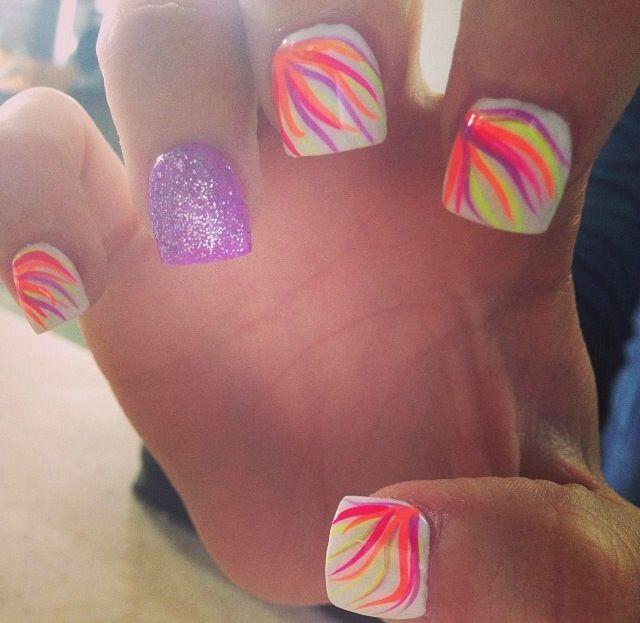 Neon Fake Nails – ledufa.com