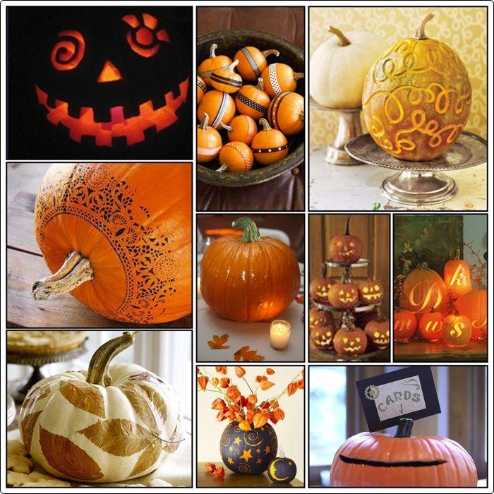 Pumpkin decorating craft ideas pinterest