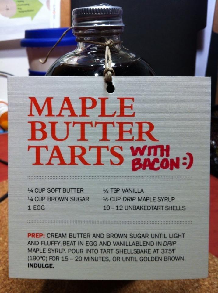 Maple butter tarts | iEat (Sweet) | Pinterest