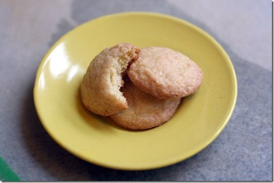 Orange Cardamom Cookies (orange flavored dough, rolled in cardamom ...