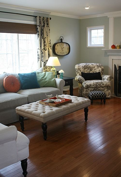my family room makeover putting it all together
