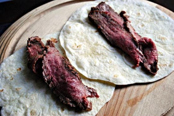 flank steak tacos with cilantro lime marinade