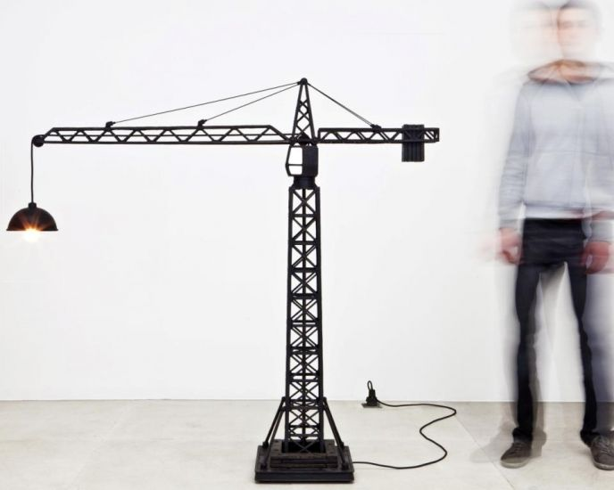 Studio Job - Crane Lamp