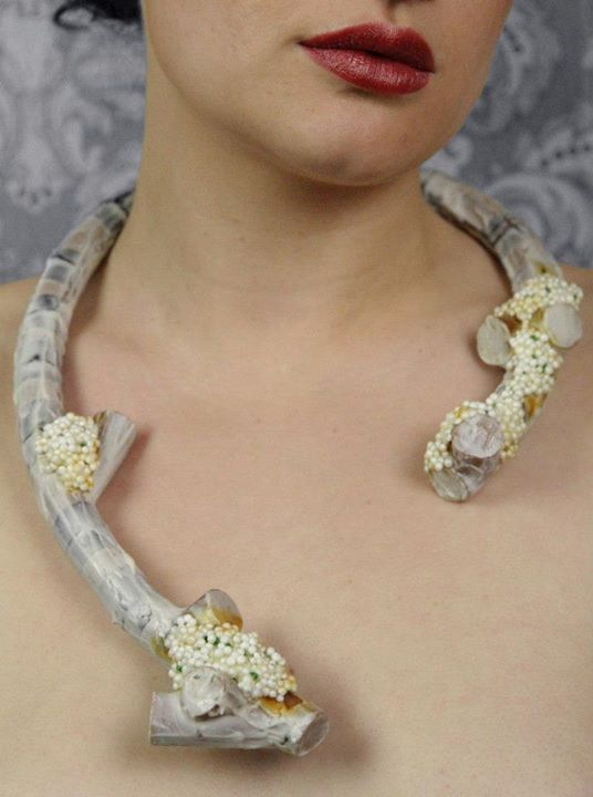 "2012 Necklace's -Tineke Maree Jansen (Auckland)  - ""clustered"""