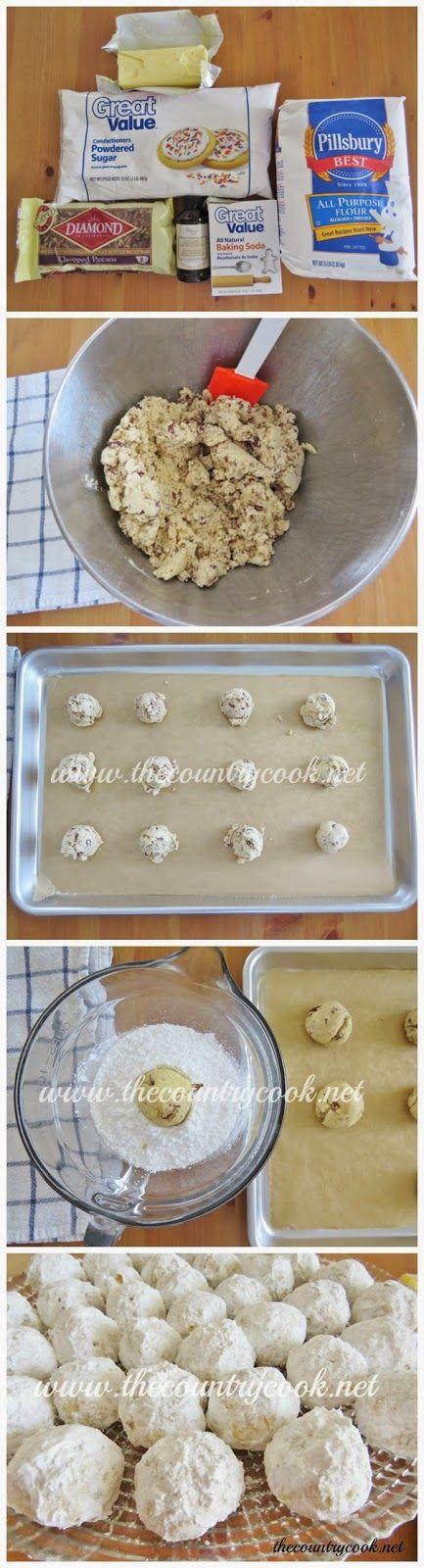 Southern Pecan Butterballs | Sweets | Pinterest