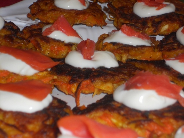 Root Vegetable Latkes - Not the traditional pancake, but they qualify ...