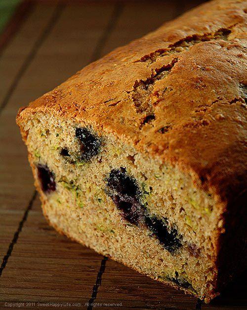 Blueberry Zucchini Bread - Easy Family Recipes