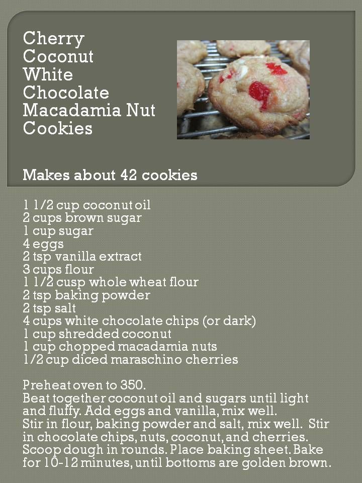 White Chocolate Nut-butter Cookies Made With Coconut Flour Recipe ...