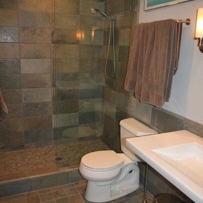 Awesome Bathroom Design Ideas Renovations Amp Photos With Multicoloured Tiles