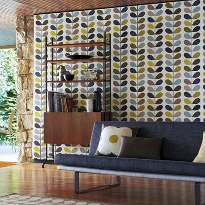 Mid Century Wallpaper 2017 Grasscloth Wallpaper