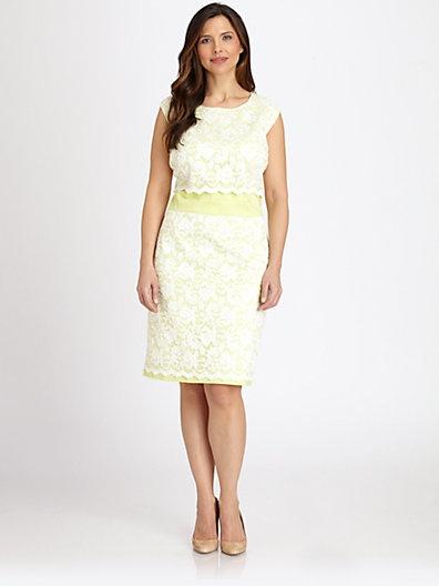 okay&co plus length dresses