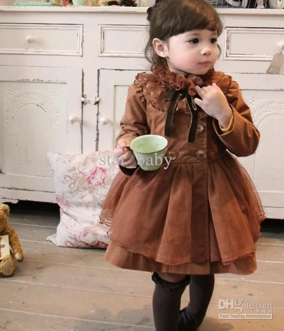 Children clothing chiffon outwear boutique clothing for girls kid long