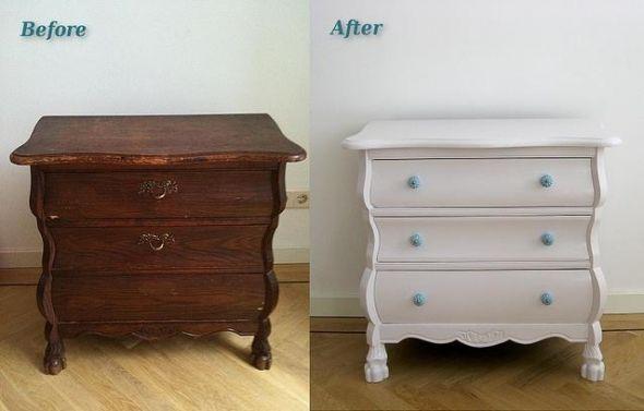Diy furniture refinishing ideas for Vecchi mobili in regalo