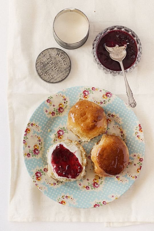 Maple Syrup Glazed Scones | Edibles | Pinterest