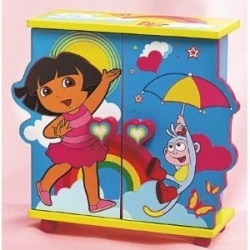 ... Lets see whats available in decor for a Dora the Explorer bedroom