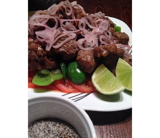 Vietnamese Shaken Beef @Luuux | Exotic Food | Pinterest