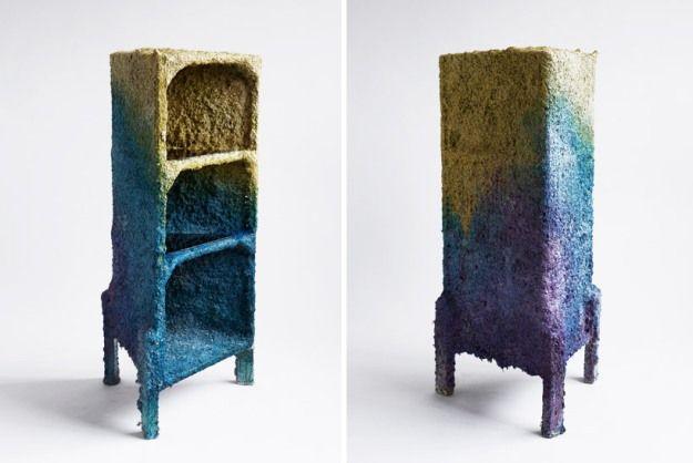 Pin by marianne mathiasen on paper mache pinterest for Paper mache furniture ideas