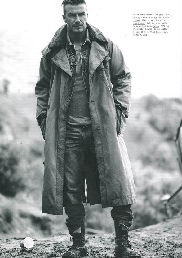 Esquire UK, September 2012 featuring our Dispatch Rider Coat