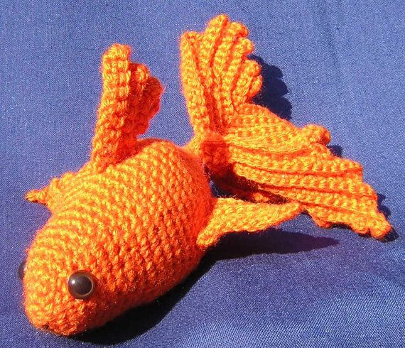 Goldfish George Amigurumi Pinterest