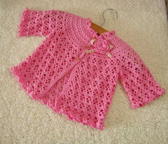 Handmade Crochet Baby Clothes