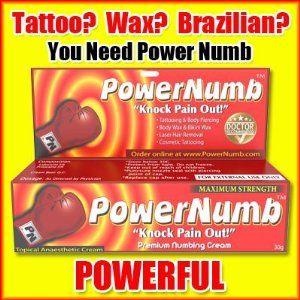 topical lidocaine brazilian wax