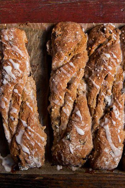 ... Eats - Recipe: Cinnamon Raisin Bread Twists #Bread #Cinnamon #Raisin