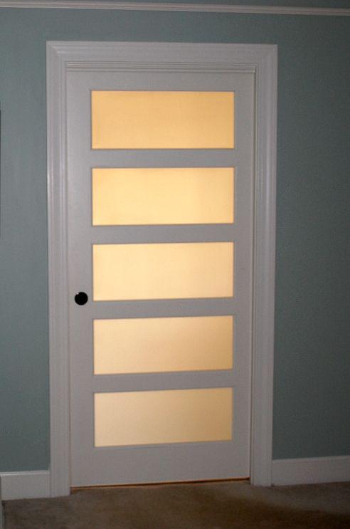 Frosted Bathroom Pocket Door 492 x 743