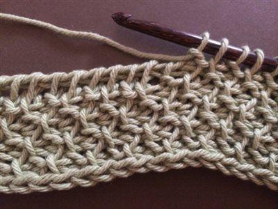 Crochet Stitch Honeycomb : Found on crochetme.com