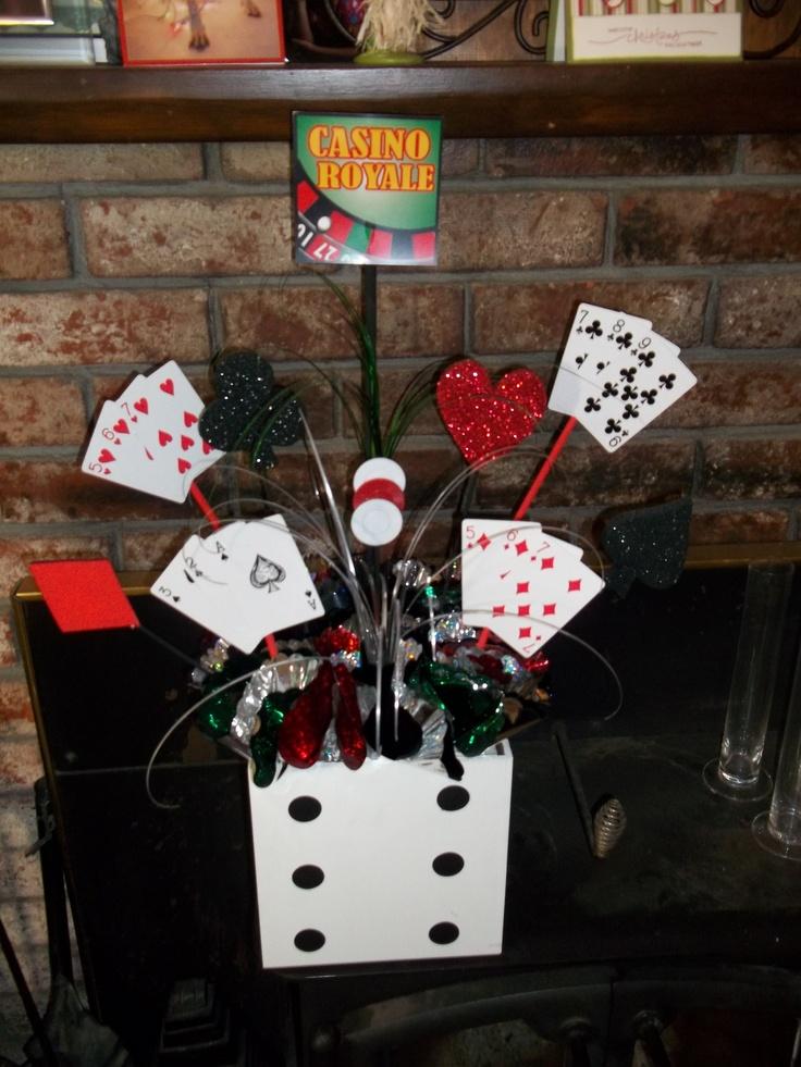 Casino centerpiece ideas