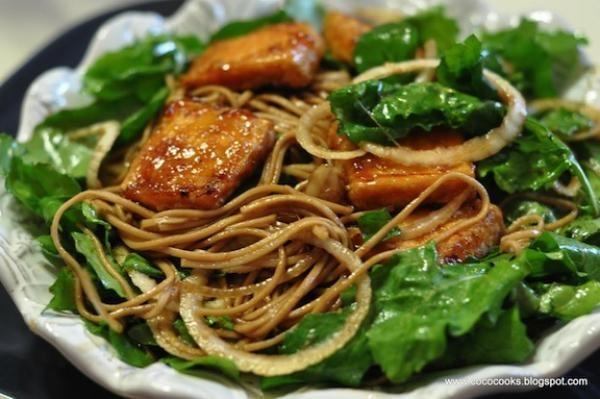 Thai-Inspired Crispy Duck & Arugula Salad Recipe — Dishmaps