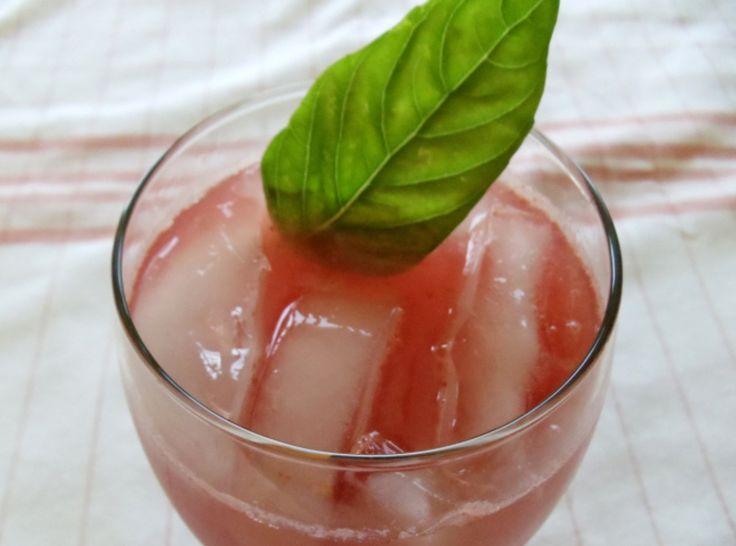 Basil-Infused Watermelon Lemonade | Recipes | Pinterest