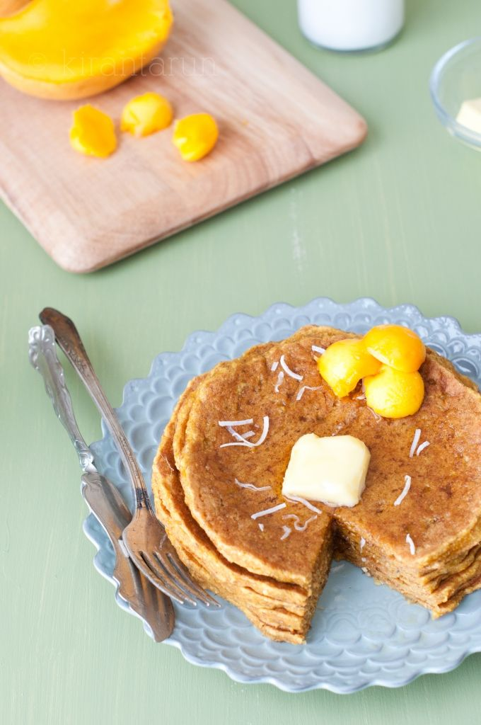Mango And Banana Pancakes Recipes — Dishmaps