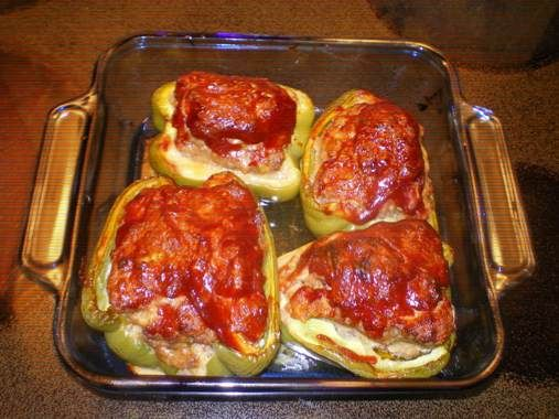 Mom's Stuffed Bell Peppers | Country Cooking | Pinterest