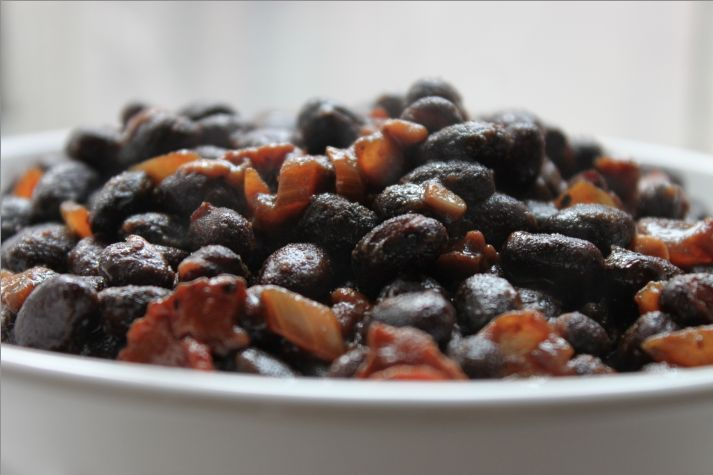Root Beer Baked Black Beans | In The Kitchen | Pinterest