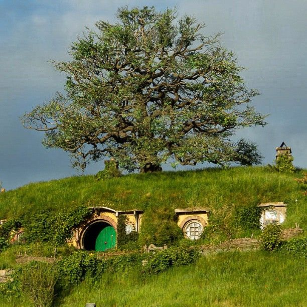 Landscaping #Hobbiton #TheHobbit