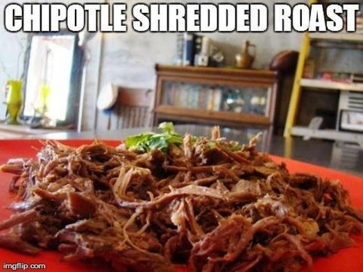 Chipotle Shredded Roast Recipe from Authentic Mexican Kitchen ...