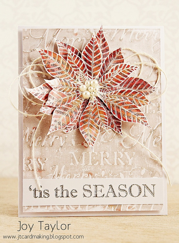A Layered Christmas Star  from The Penny Black Blog by jennbalcer