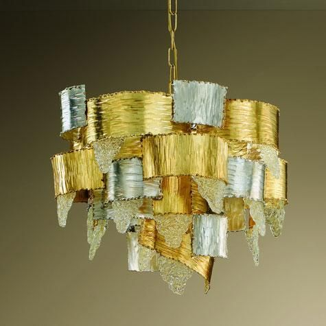 Artistic Glass Chandelier by MM Lampadari