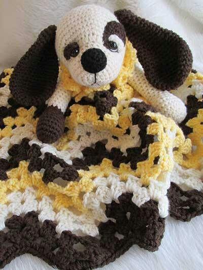 Crochet Pattern For Dog Blanket : Puppy blanket Crochet patterns and tutorials Pinterest