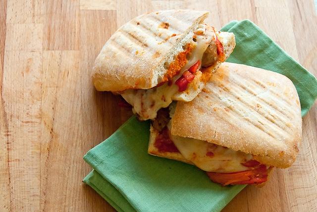 Spicy Sausage Panini | Crumb: A Food Blog