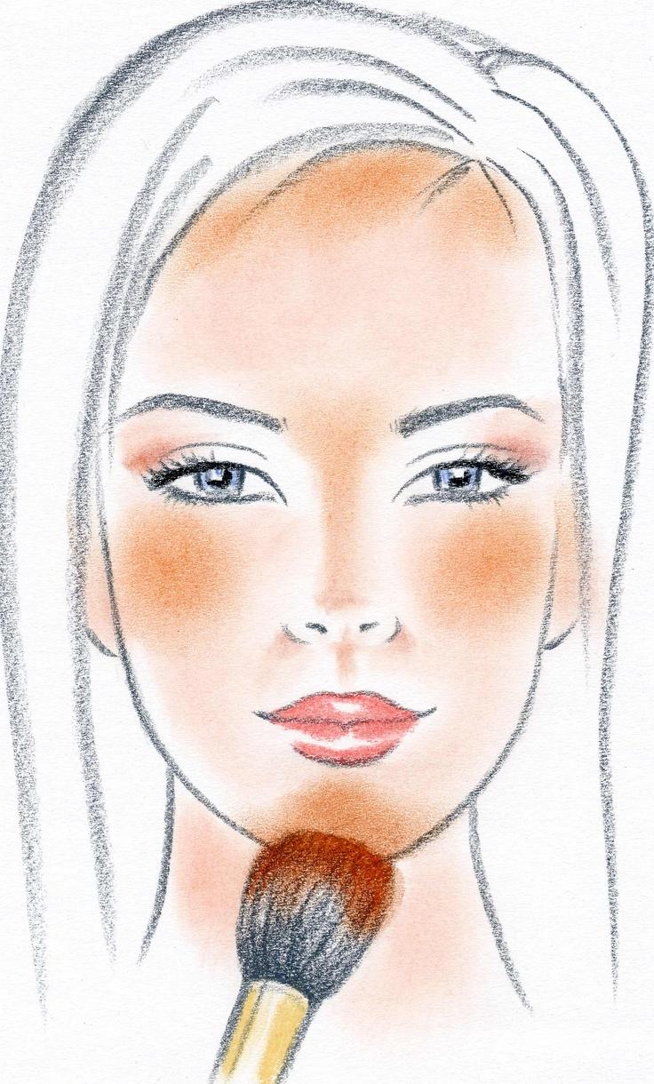 Apply Bronzer Hair Beauty